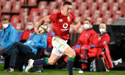 Adams called in for Test debut in British and Irish Lions series decider