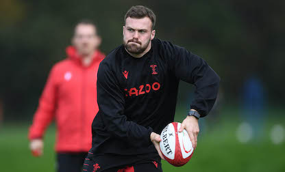 Eight Blue and Blacks named in Wales squad
