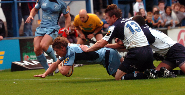 Cardiff Blues 16 Leinster 16