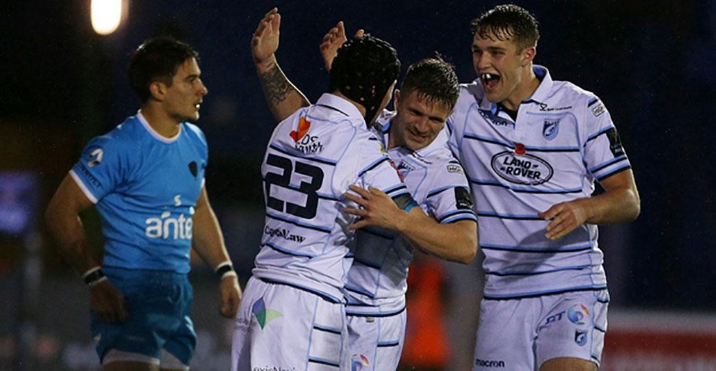 Cardiff Blues 45 Uruguay 21