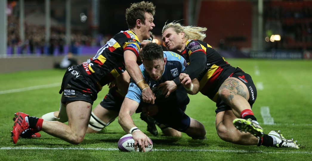 Gloucester Rugby 46 Cardiff Blues 26