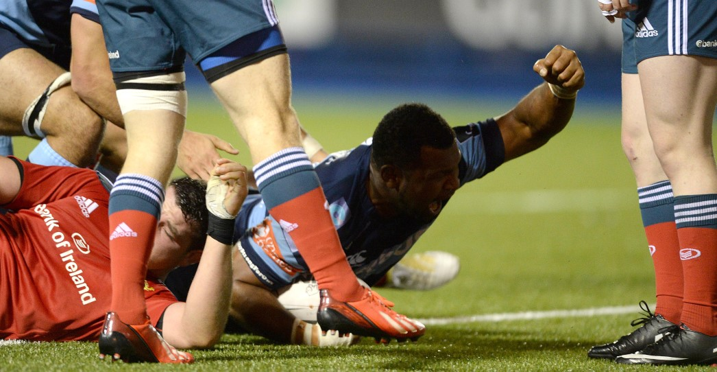 Cardiff Blues 24 Munster Rugby 28