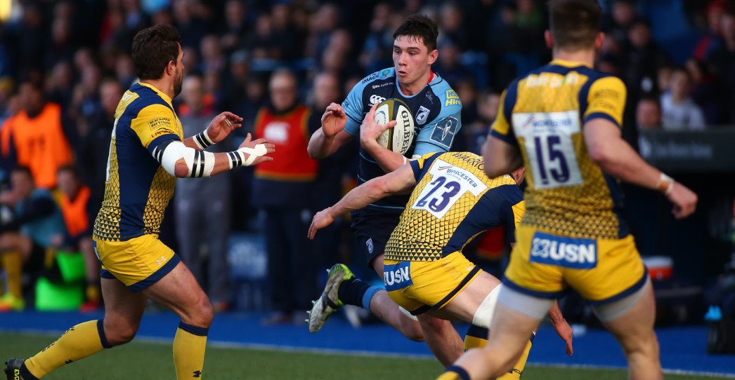 Cardiff Blues 38 Worcester Warriors 53