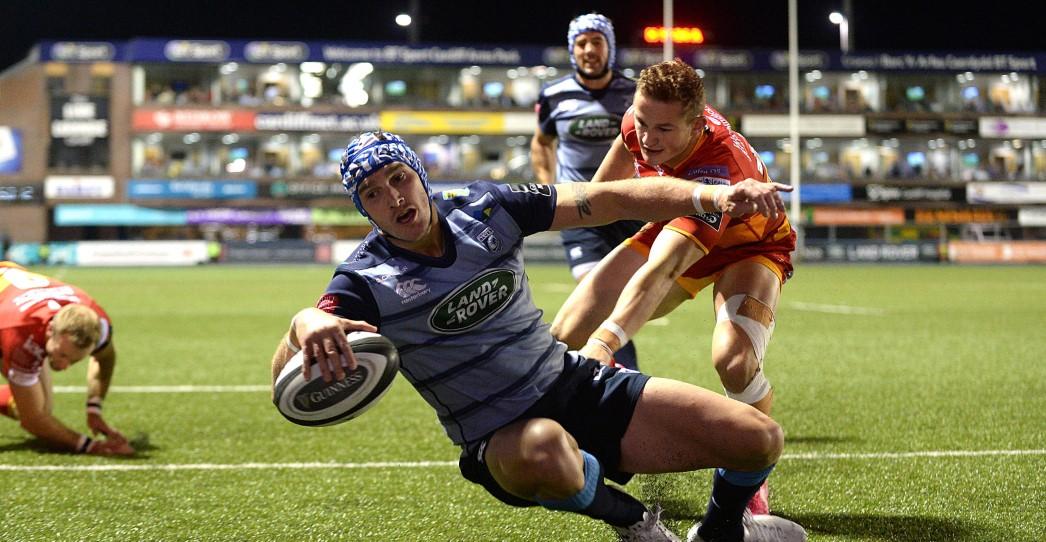 Cardiff Blues 43 Dragons 29