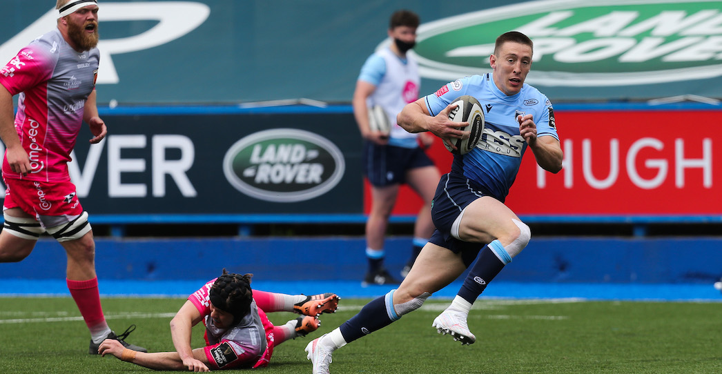 Cardiff Blues 17 Dragons Rugby 16