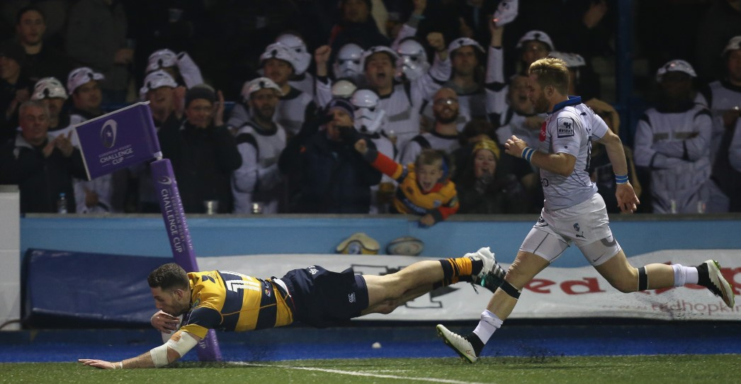 Cardiff Blues 37 Montpellier 27