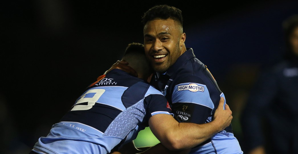 Cardiff Blues 37 Munster Rugby 13