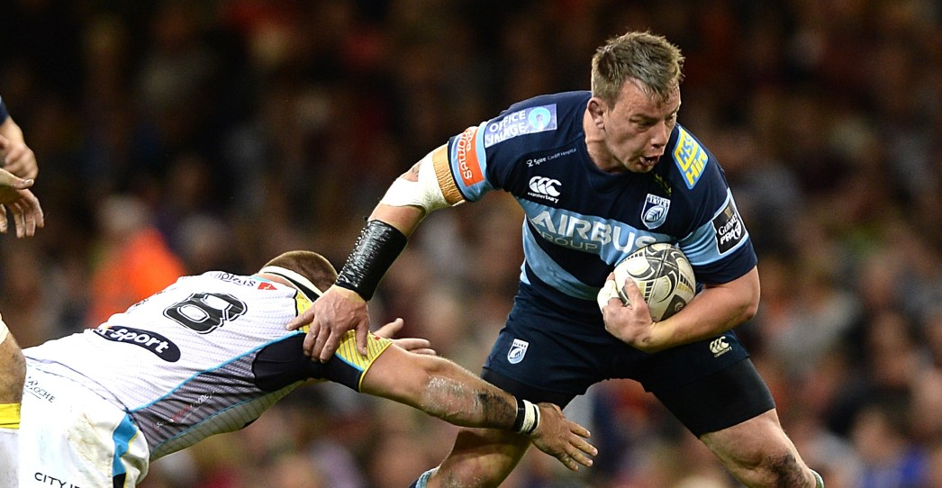 Rees leads Cardiff Blues into Munster battle