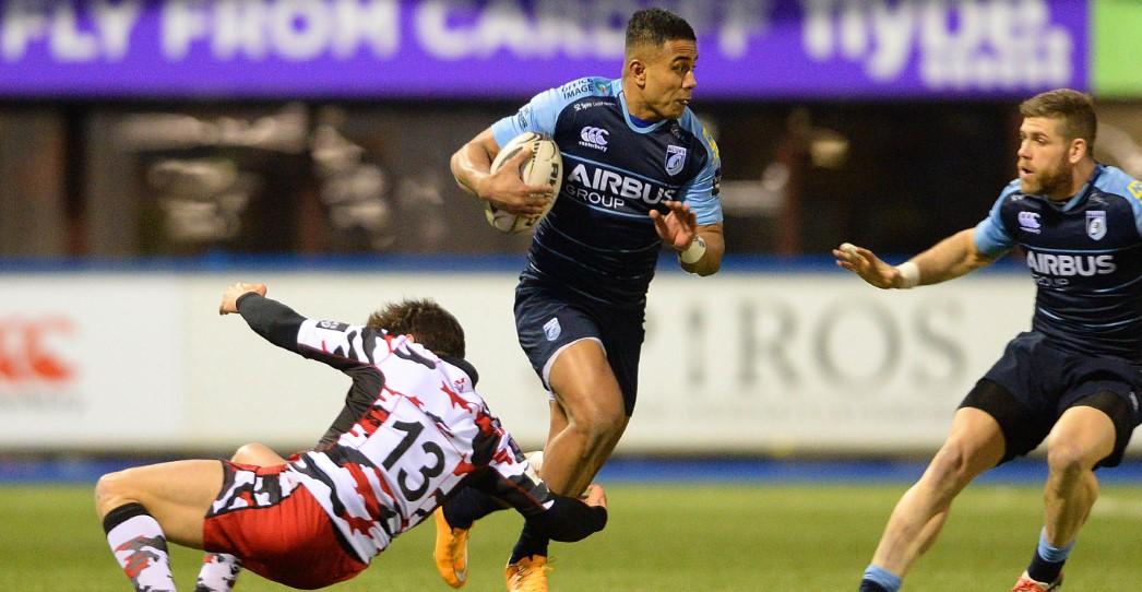 Cardiff Blues 10 Edinburgh Rugby 3