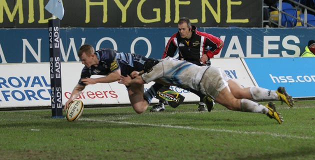 Cardiff Blues 11 Leinster 3