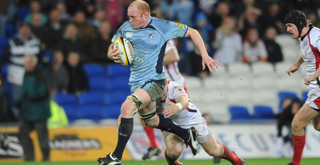 Blues select side for Arms Park match