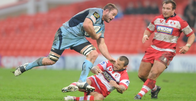 Cardiff Blues 18  Gloucester Rugby 29