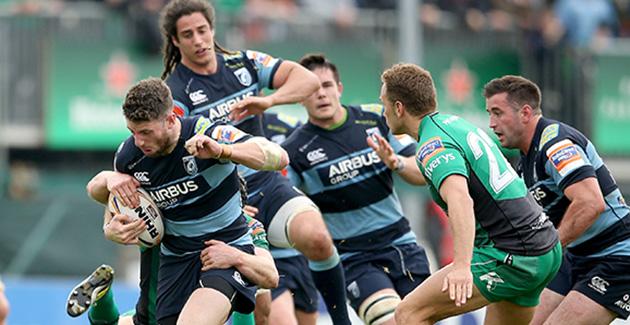 Connacht Rugby 15 Cardiff Blues 22