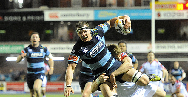 Cardiff Blues 28 Ulster Rugby 23