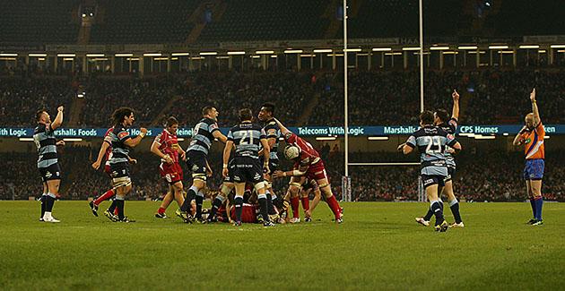 Cardiff Blues 17 Scarlets 13