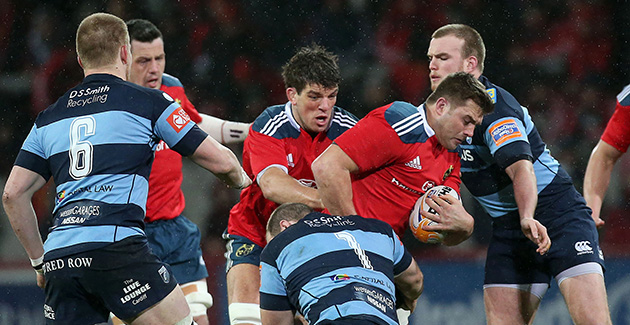 Munster Rugby 54 Cardiff Blues 13