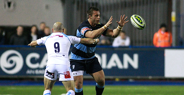Cardiff Blues 16 Worcester Warriors 21