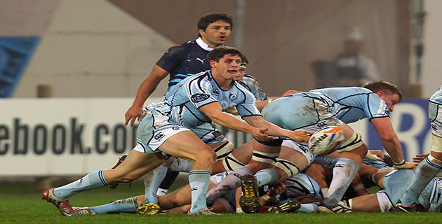 Cardiff Blues team and Arms Park weather condition update